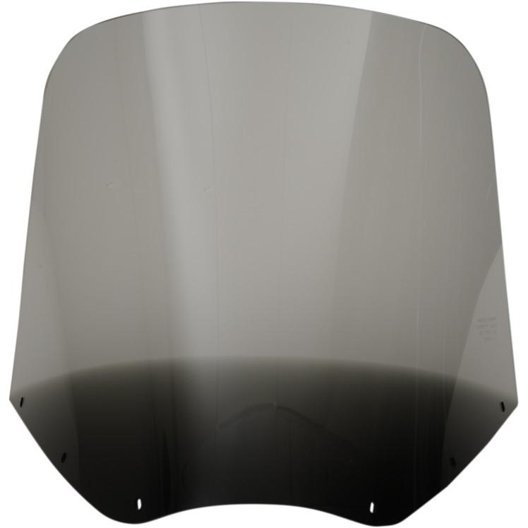 【23500451】 SOLID ウインドシールド ROAD WARRIOR フェアリング用:Black Smoke/高さ:15インチ
