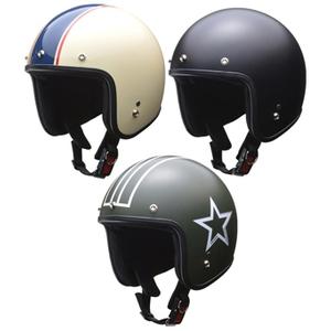 【lgrsj】 LEAD GRENVER スモールジェットヘルメット フリー(57~60cm未満)