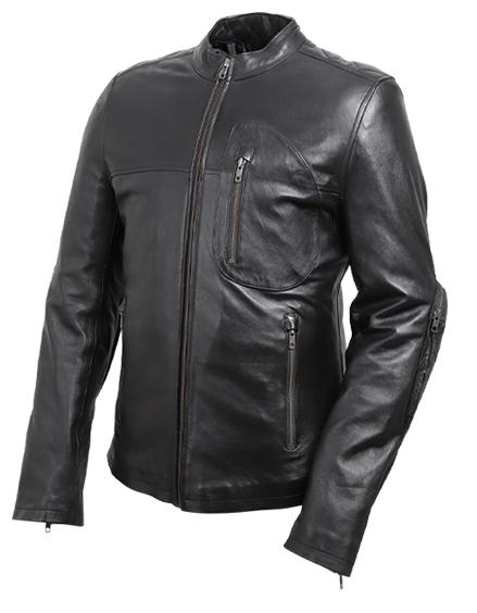 【19sj-1-bk】 DEGNER レザージャケット ブラック(19SJ-1) ブラック S/M/L/XL ハーレーアパレル