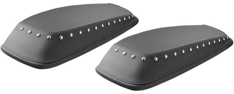 ハーレーカスタムパーツ ハードサドルバッグ 35011352 リッド 新作送料無料 サドルバッグ 公式ストア チャップス:スタッズスタイル