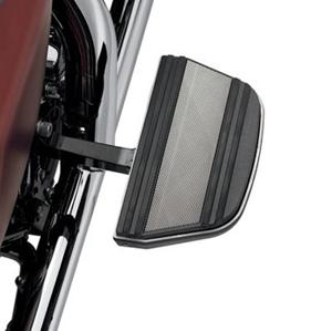【50627-08】 ダイヤモンドブラックコレクション・パッセンジャーフットボードインサートキット ハーレー純正パーツ
