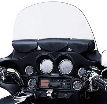 【58900-98B】 レザー・3ポケット・フェアリングポーチ ハーレー純正パーツ