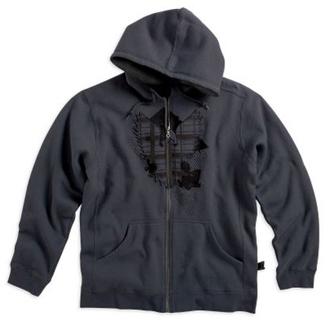 ハーレー 純正 アパレル 【長袖】 Zip Front Hooded Sweatshirt