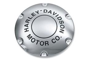 【25130-04A】 H-D MOTOR CO.ロゴ・ダービーカバー ハーレー純正パーツ