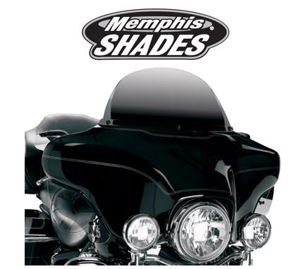 【ウインドシールド】ウインドスクリーン Memphis Shades:Clear ハーレーパーツ
