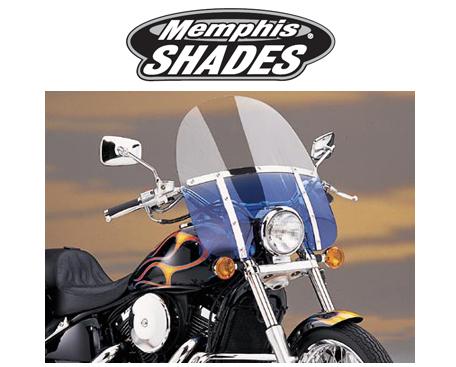 【23130096】 17 FATSスクリーン Memphis Shades Night Shades black ハーレーパーツ
