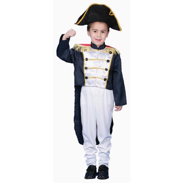 コロニカルボーイ 衣装、コスチューム 子供男性用 ナポレオン Colonial General コスプレ
