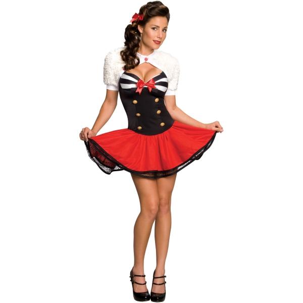 キュートな海兵 航海士 衣装、コスチューム 大人女性用 Wishes Naval