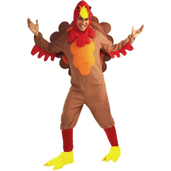 七面鳥 トリ 衣装、コスチューム 大人男性用 動物 Turkey