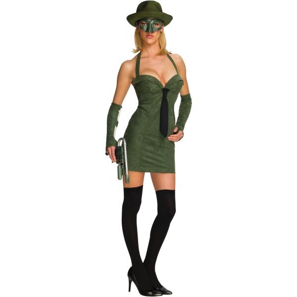 グリーンホーネット セクシー 衣装、コスチューム 大人女性用 Sexy Green Hornet