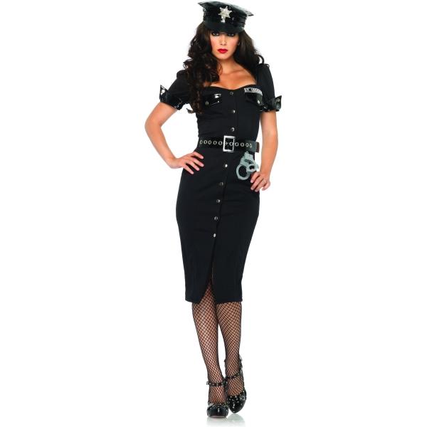 女警察 ポリス 衣装、コスチューム 大人女性用 Lt. Lockdown