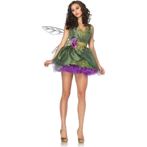 森の妖精 フェアリー 衣装、コスチューム 大人女性用 Woodland Fairy
