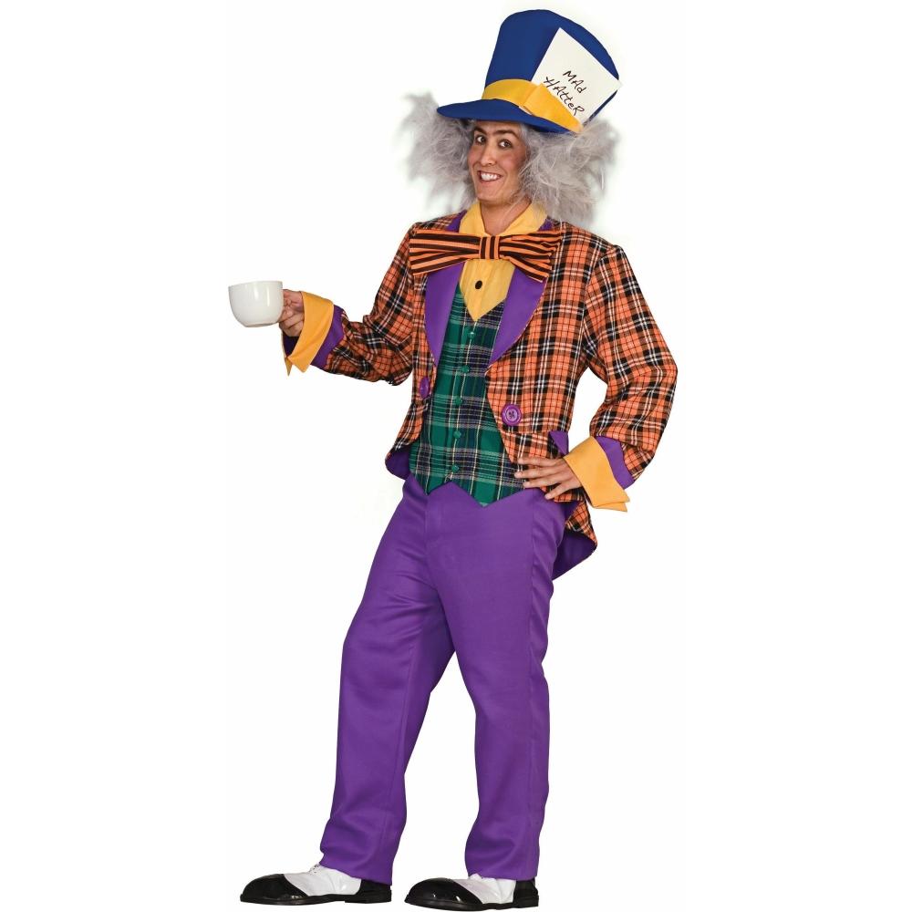 マッドハッター 衣装、コスチューム 大人男性用 チェック柄 Plaid Mad Hatter