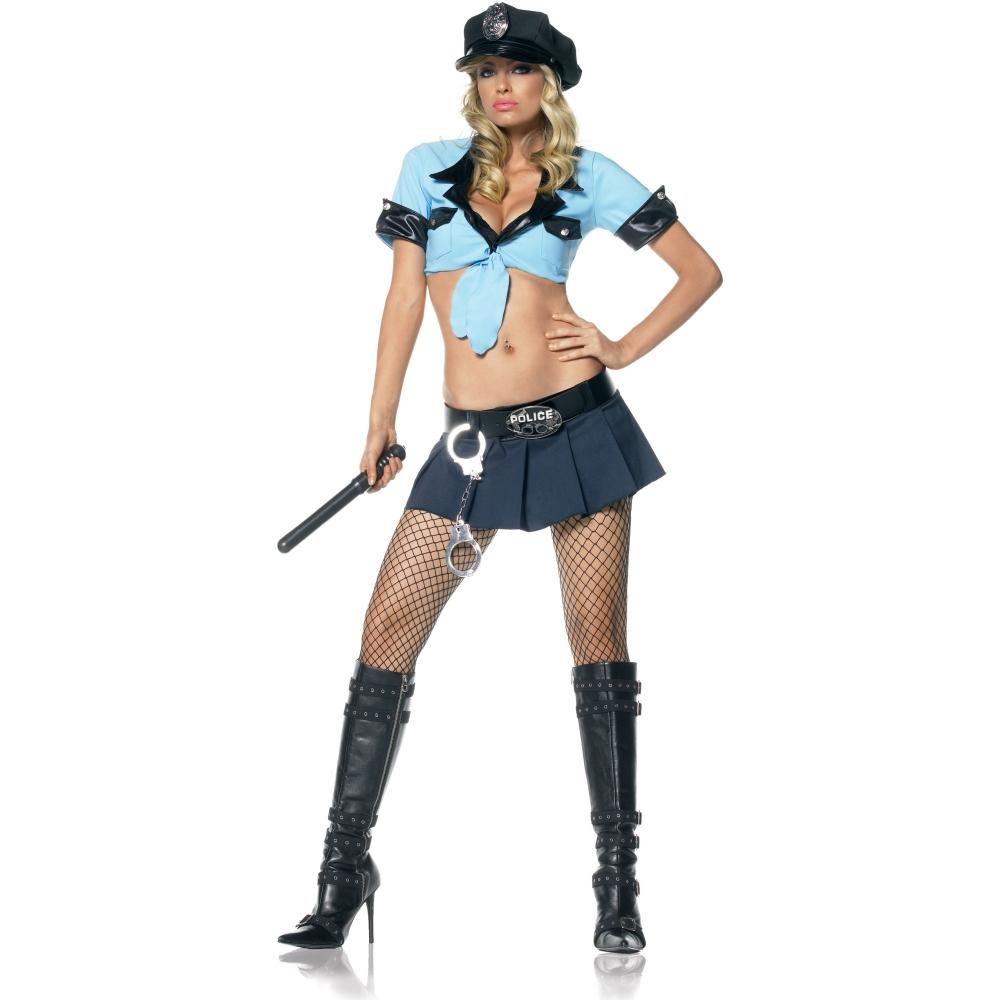 セクシーな警察官 ポリス 衣装、コスチューム 大人女性用 Sexy Officer