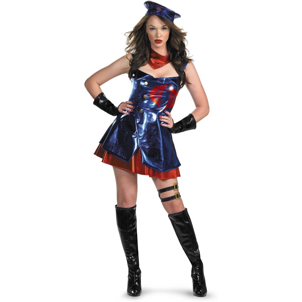 コブラ GIジョー 衣装、コスチューム Deluxe 大人女性用 セクシー 映画
