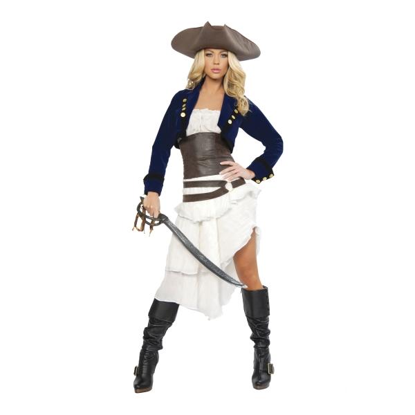コロニアルパイレーツ 海賊 衣装、コスチューム DLX 大人女性用 Colonial Pirate