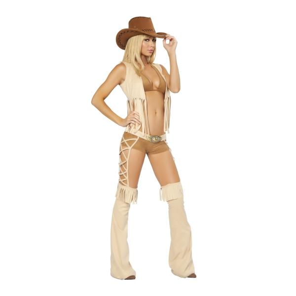 セクシーなカウガール 衣装、コスチューム 大人女性用 西部劇 コスプレ Rider