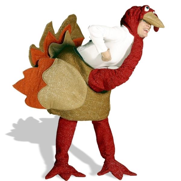七面鳥 衣装、コスチューム 着ぐるみ 大人男性用 動物 ターキー