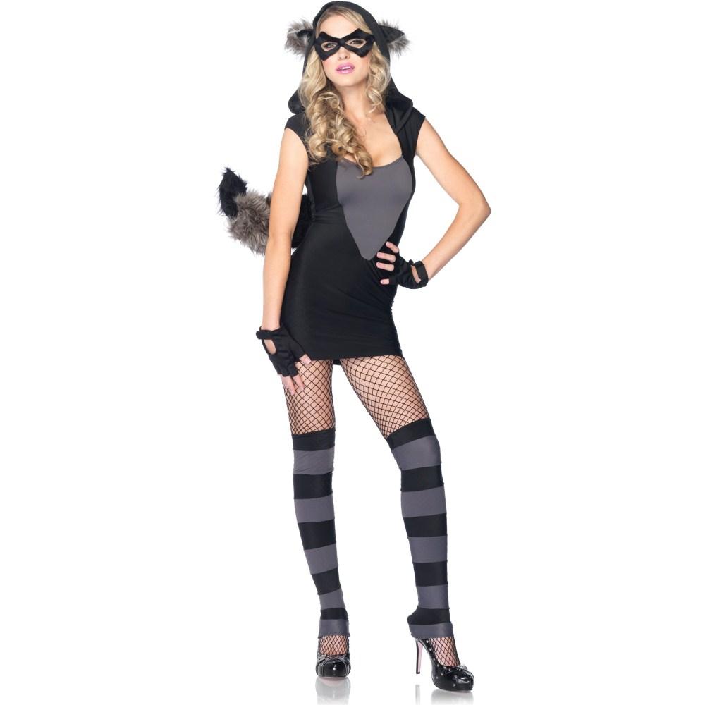 アライグマ 衣装、コスチューム 大人女性用 セクシー Risky Raccoon コスプレ