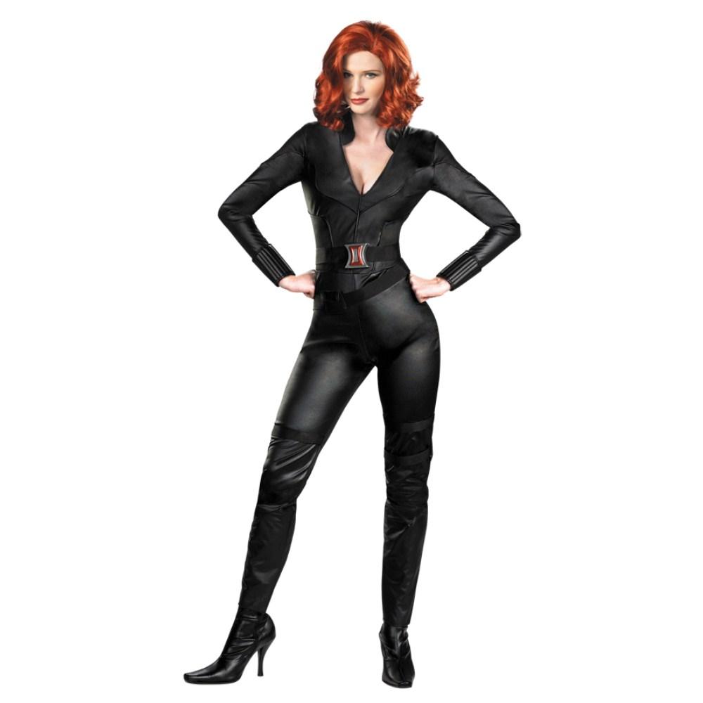 アベンジャーズ 衣装、コスチューム DLX 大人女性用 ブラックウィドウ