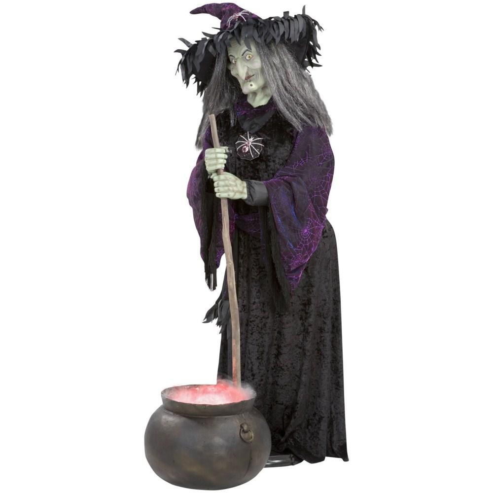 魔女 リアルサイズ 煙のでる大釜 コスプレ
