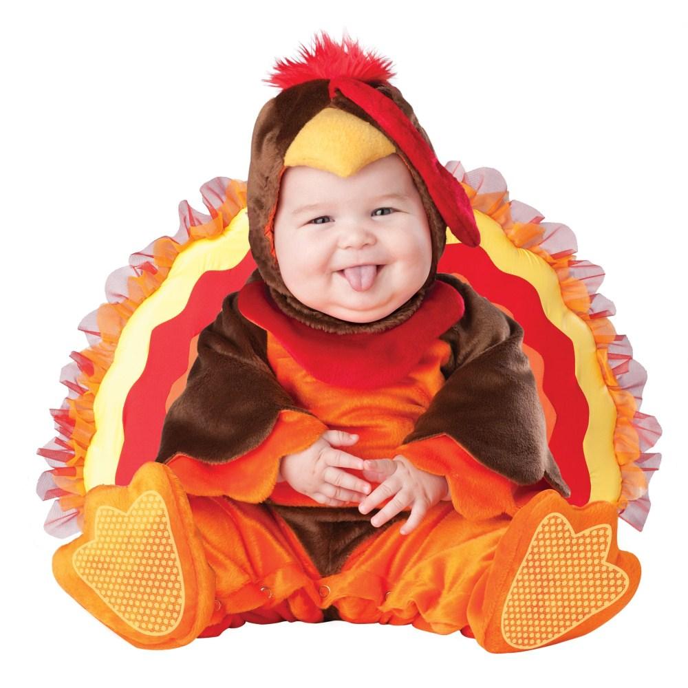 リトル・ゴブラー、七面鳥 赤ちゃん、幼児用 衣装、コスチューム