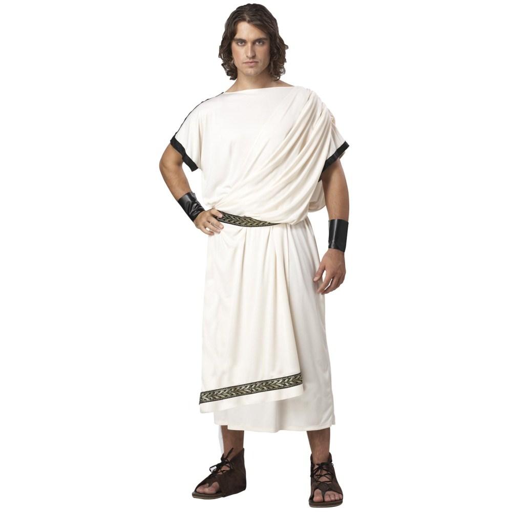 ローマ市民 デラックス・トーガ 大人男性用 衣装、コスチューム コスプレ