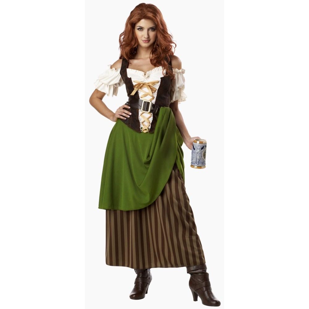 酒場のレディー 大人女性用 衣装、コスチューム
