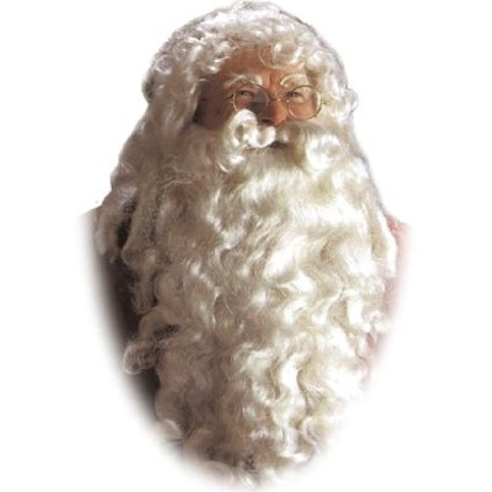 サンタクロース デラックス ウィッグ 大人男性用、かつら & ホワイト ツケヒゲ 大人男性用 サンタクロース ホワイト, CONEY ISLAND:28e665fd --- officewill.xsrv.jp