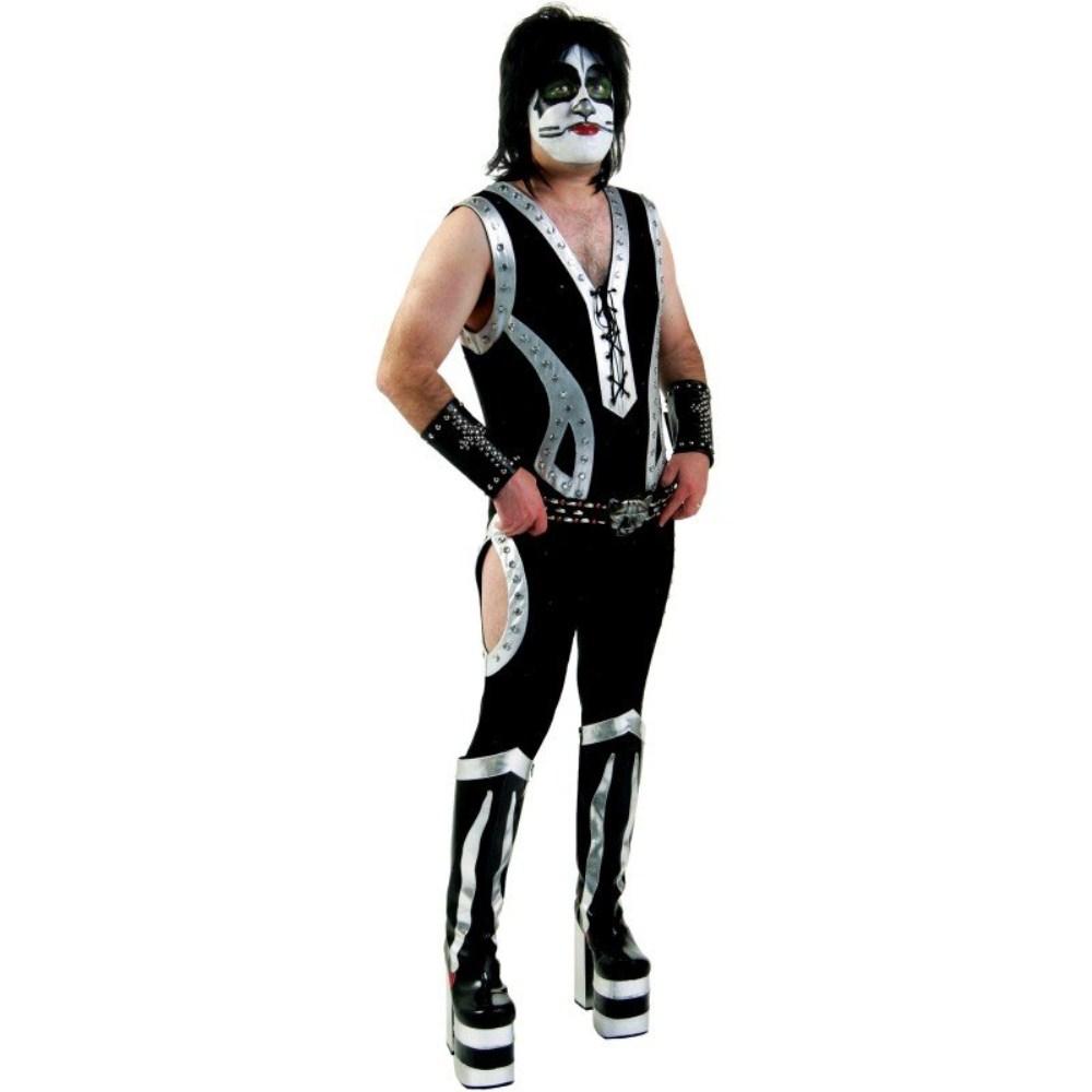 KISS キッス 本格的 キャットマン 衣装、コスチューム 大人男性用 コスプレ