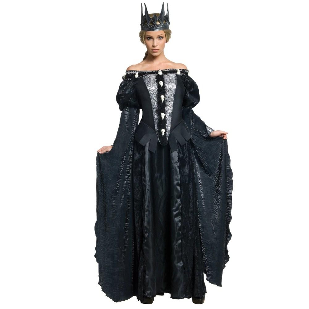 ラヴェンナ女王 デラックス 衣装、コスチューム 大人女性用 スノーホワイト
