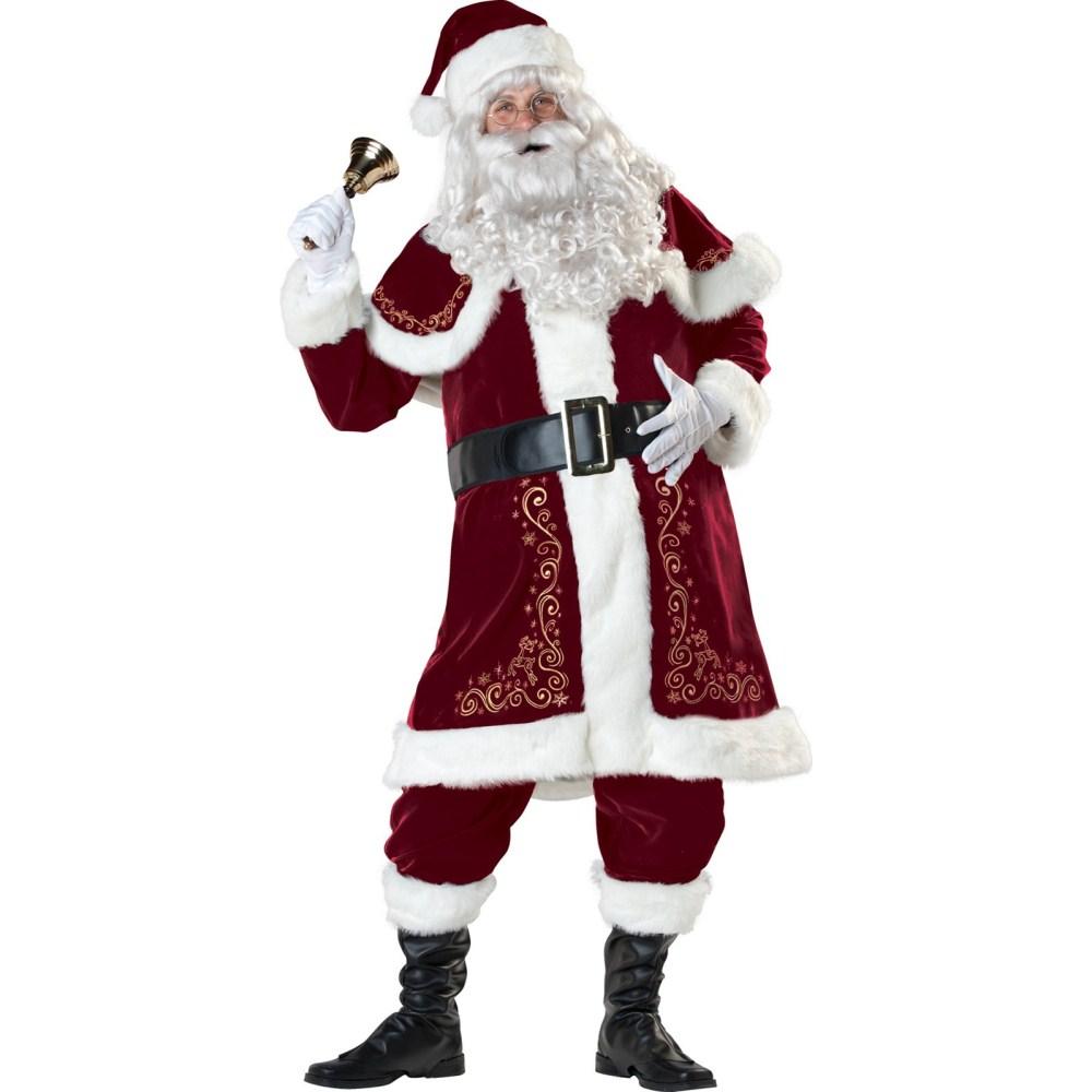 セント・ニクラウス サンタクロース 衣装、コスチューム 大人男性用