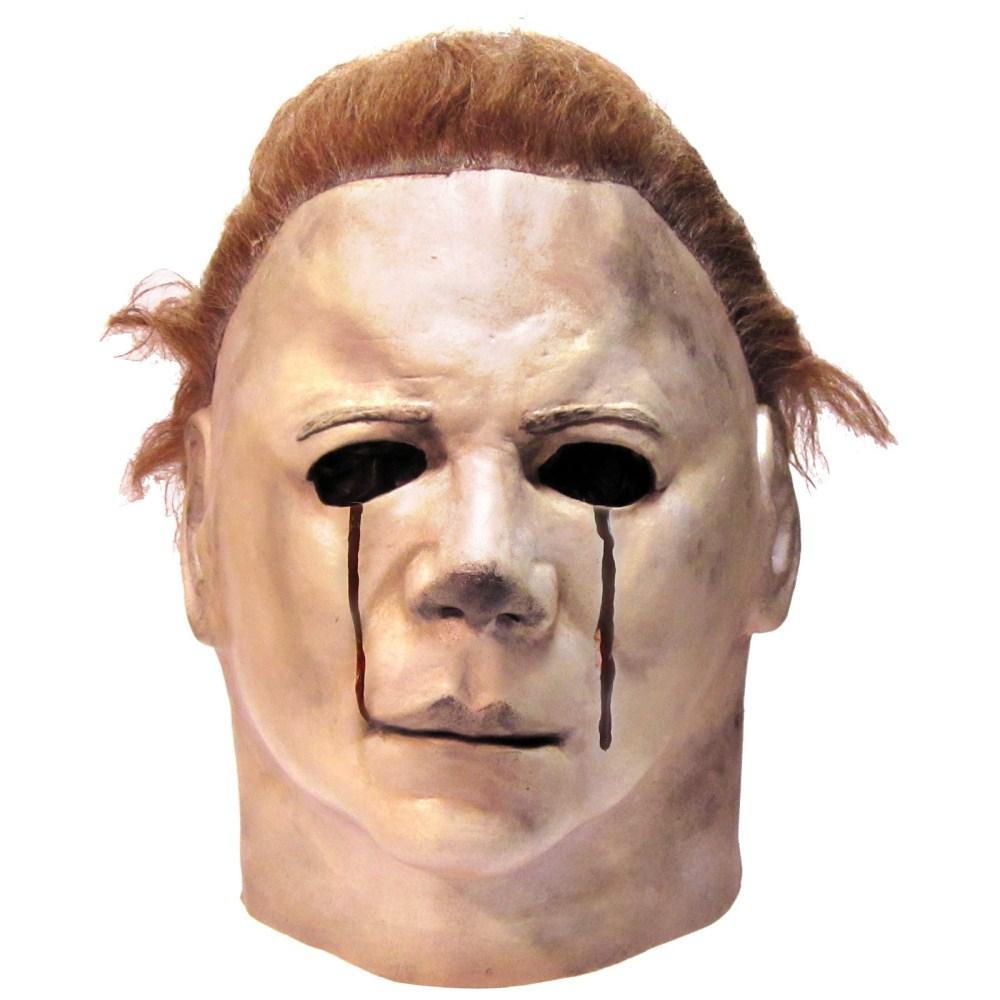 1981 マイケル・マイヤーズ 血の涙 マスク 大人男性用 ハロウィーン2 コスプレ