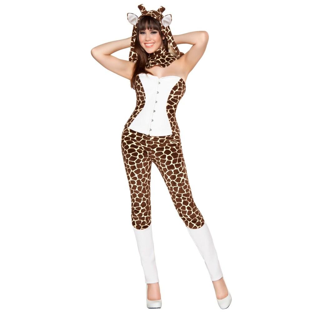 ジラーフ・キューティー キリン 衣装、コスチューム 大人女性用