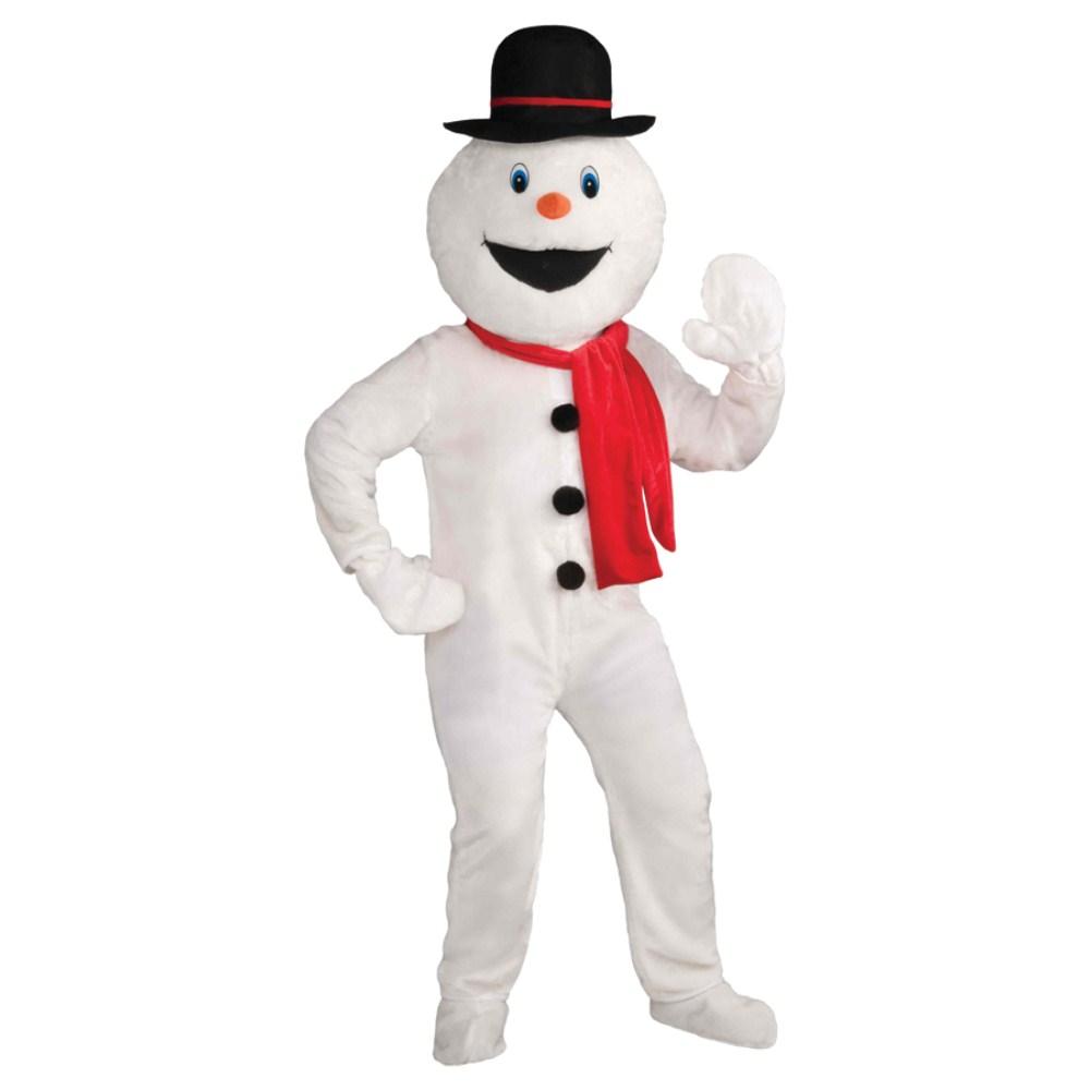 スノーマン 着ぐるみ 衣装、コスチューム 大人男性用 クリスマス SNOWMAN MASCOT