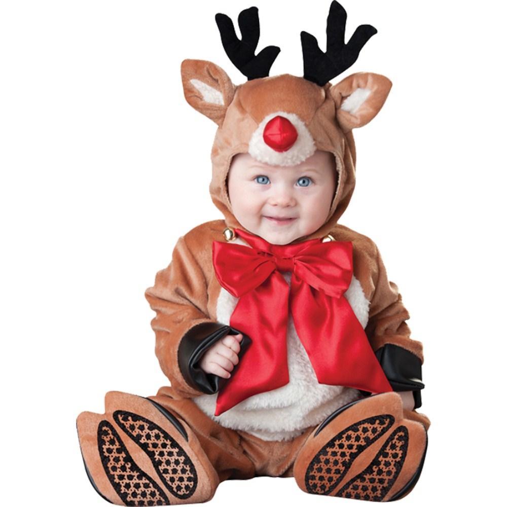 トナカイ 衣装、コスチューム ベビー用 コスプレ クリスマス REINDEER RASCAL