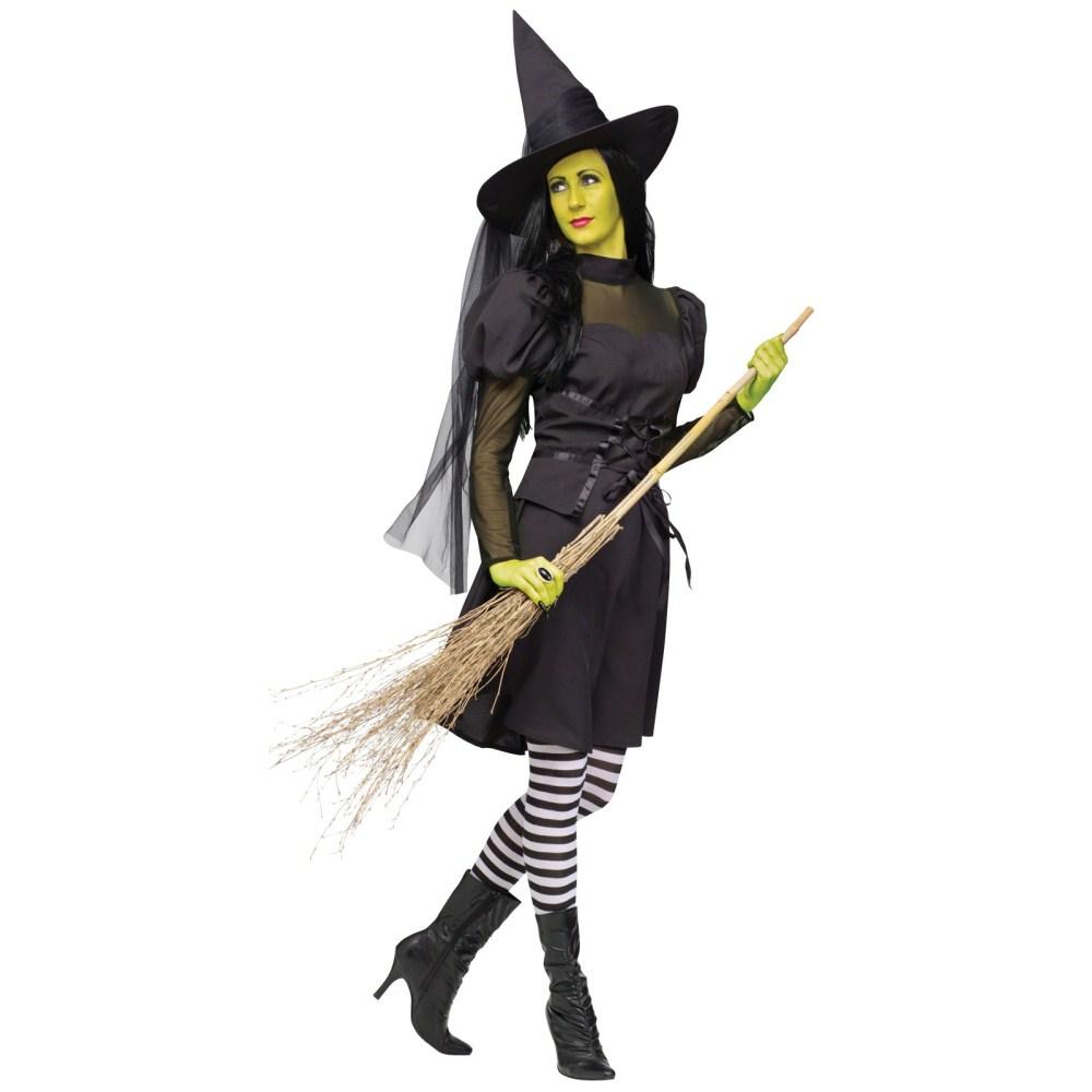 ミズ・ウィックド 魔女 衣装、コスチューム 大人女性用