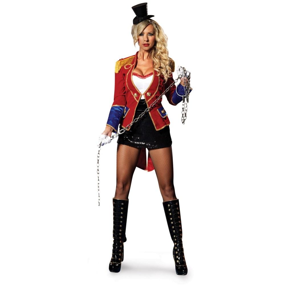 サーカスのリング・マスター デラックス 衣装、コスチューム 大人女性用 コスプレ