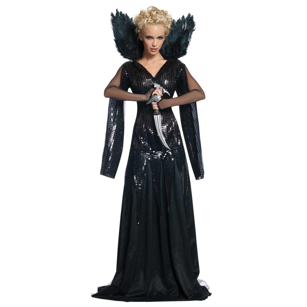 映画「スノーホワイト」 ラヴェンナ女王 衣装、コスチューム 大人女性用 コスプレ
