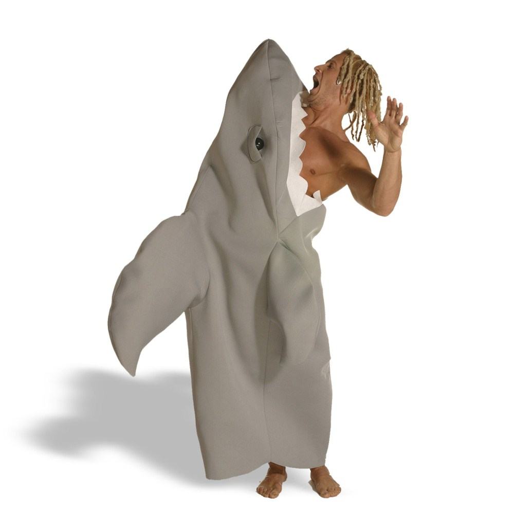 シャーク・アタック サメ 衣装、コスチューム 大人男性用