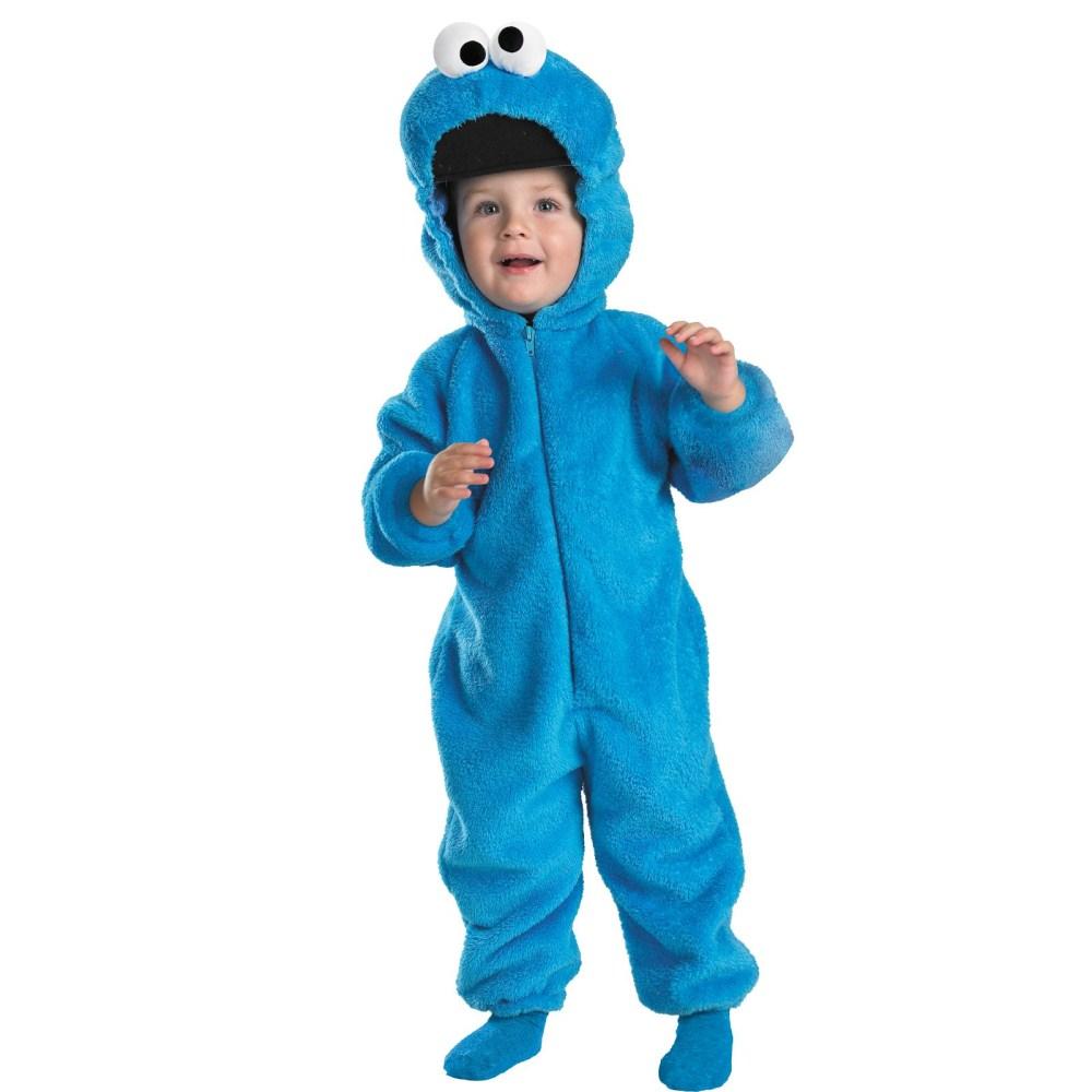 クッキー・モンスター 衣装、コスチューム 幼児男性用 セサミストリート