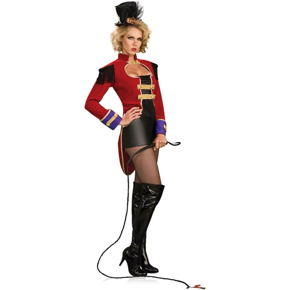 サーカスのリング・ミストレス 衣装、コスチューム 大人女性用