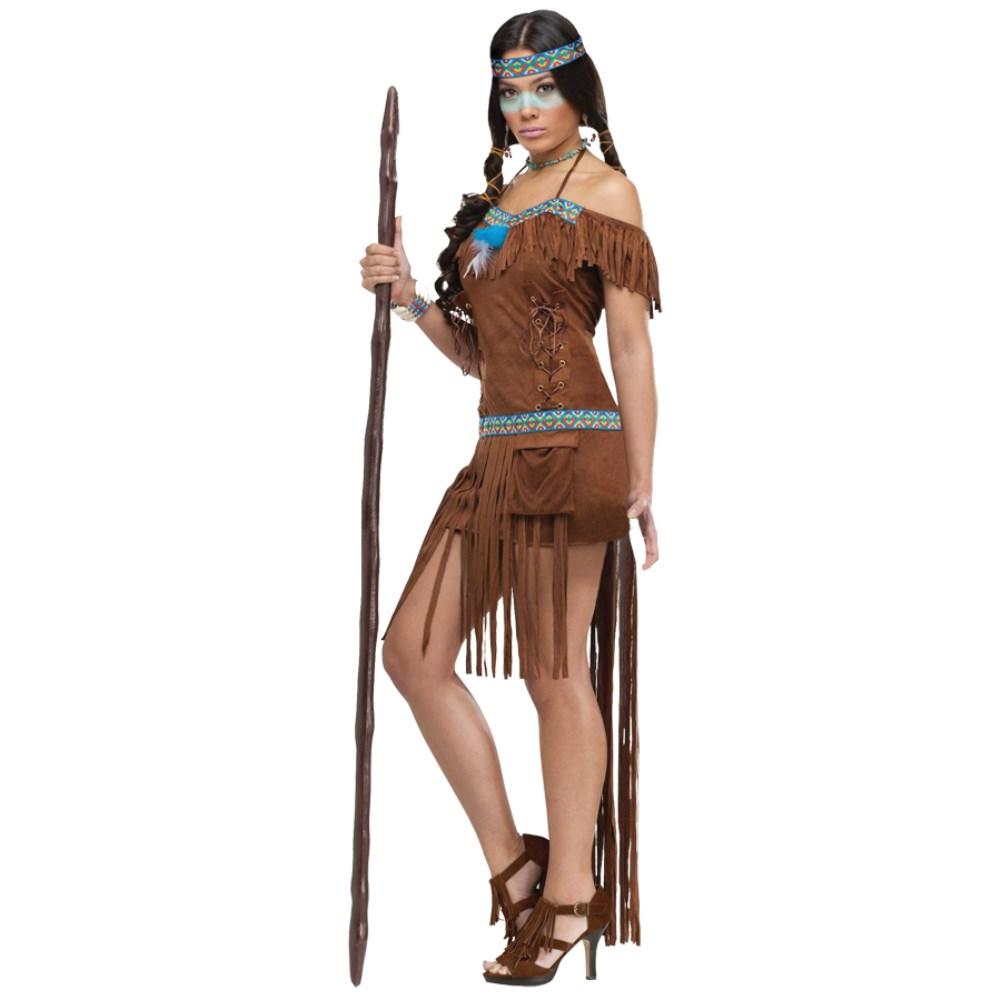 インディアン 衣装、コスチューム MEDICINE 大人女性用 ネイティブアメリカン