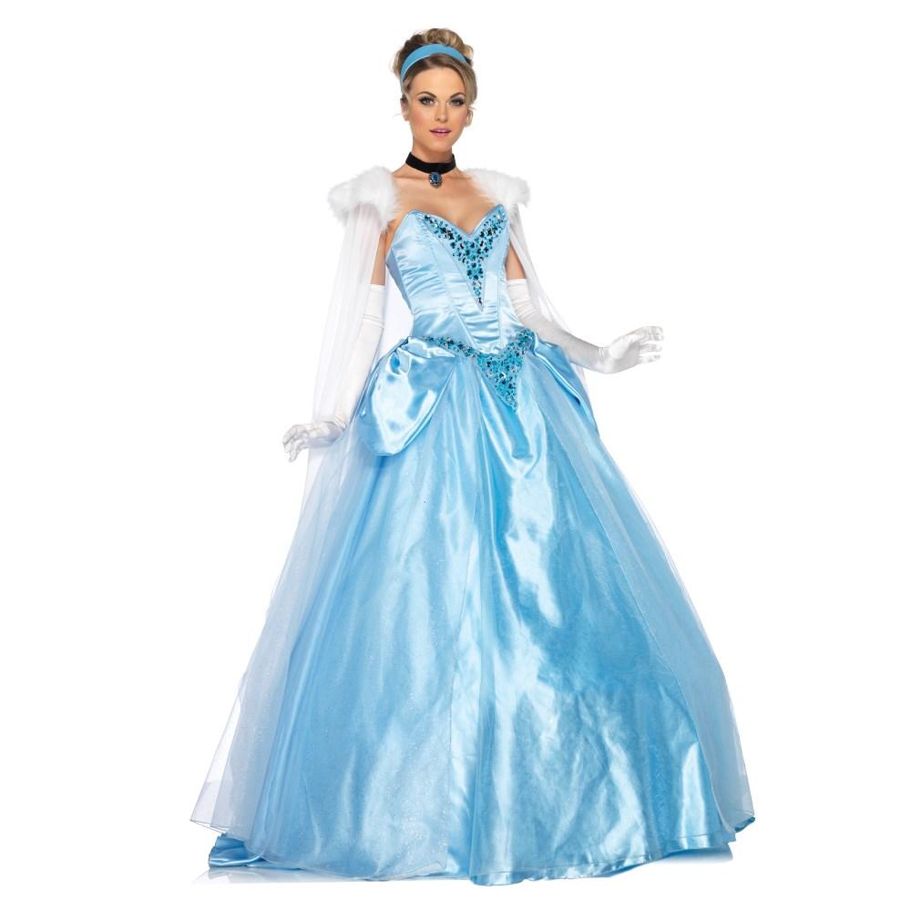 シンデレラ 衣装、コスチューム DLX 大人女性用 ディズニー Princess Cinderella