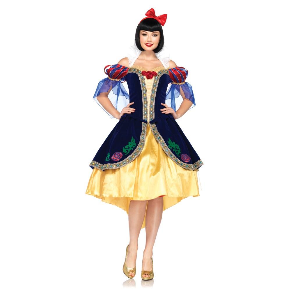 白雪姫 衣装、コスチューム DLX 大人女性用 ディズニー Snow White コスプレ