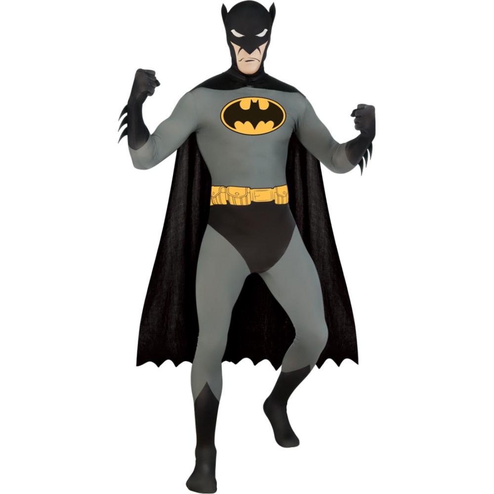 バットマン 衣装、コスチューム 大人男性用 BATMAN SKIN SUIT