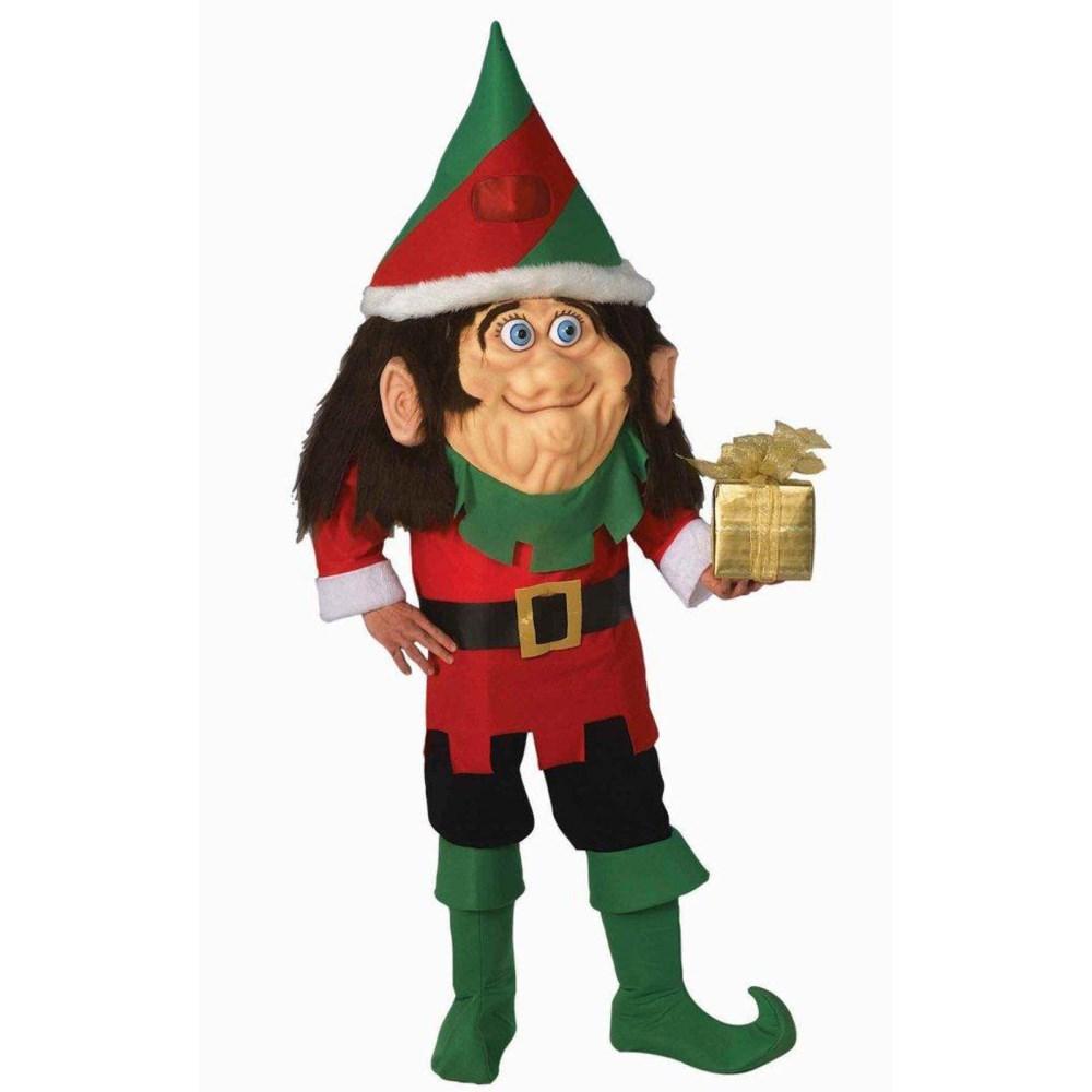 サンタクロースの妖精 衣装、コスチューム 大人男性用 クリスマス エルフ Santa's Elf