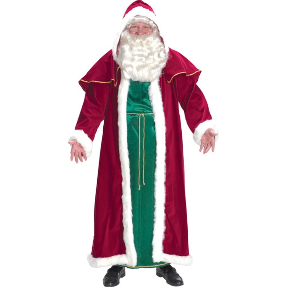 大切な サンタクロース ローブ 衣装 SUIT、コスチューム ローブ 大人男性用 クリスマス クリスマス SANTA SUIT VICTORIAN, Lens Market:a61d6e5d --- saturn-2001.ru