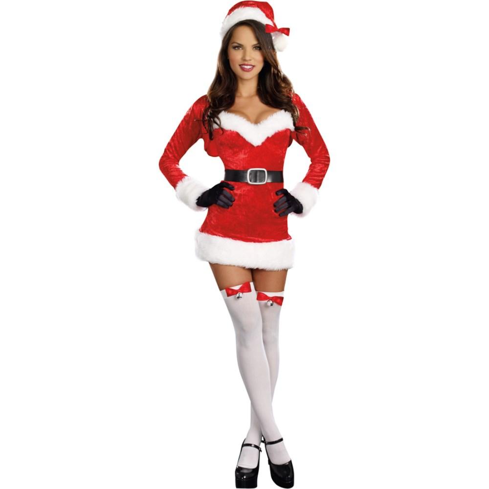 サンタクロース セクシー 衣装、コスチューム 大人女性用 クリスマス SANTA BABY コスプレ
