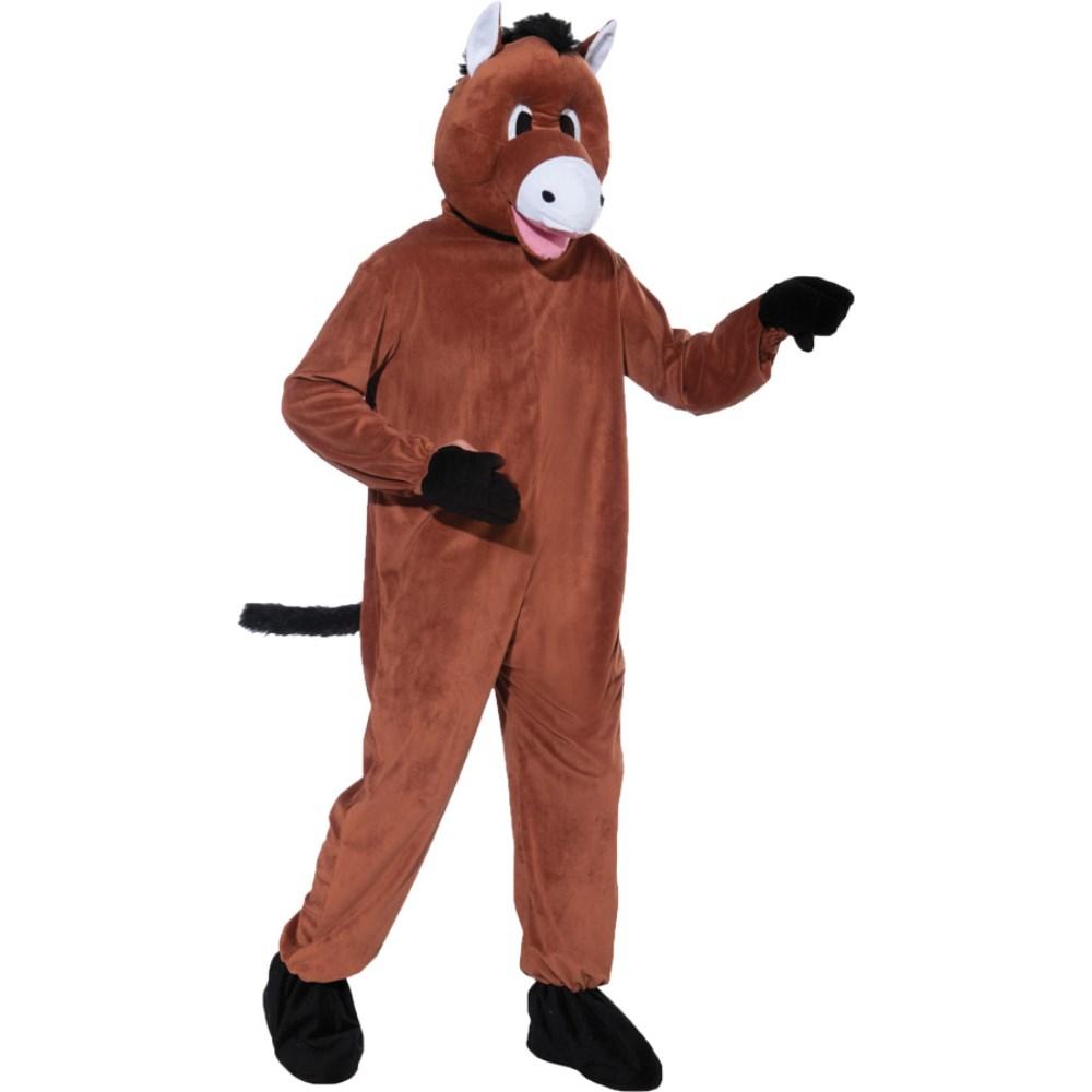 馬 ポニー 衣装、コスチューム 大人男性用 着ぐるみ HORSE MASCOT